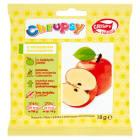 CRISPY Natural Chrupsy Chrupiące plasterki jabłka o smaku bananowym 20g