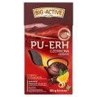 BIG-ACTIVE PU-ERH Herbata czerwona liściasta o smaku cytyrnowym 100g
