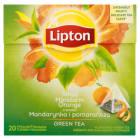 LIPTON Green Tea Herbata zielona z mandarynką i pomarańczą 20 torebek 36g