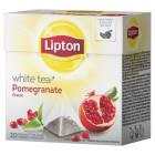 LIPTON White Herbata biała z aromatem granatu 20 torebek 30g