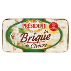 PRESIDENT La Brique de Chevre Ser miękki pleśniowy z mleka koziego 150g