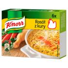 KNORR Rosół z kury - 6 kostek 60g