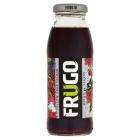 FRUGO Czarne Napój o smaku czarnej porzeczki z winogronami i pitahają 250ml