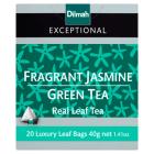 DILMAH Exceptional Herbata zielona Fragrant Jasmine Green Tea 20 torebek 40g