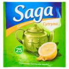 SAGA Herbata zielona z cytryną 25 torebek 33g