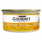 GOURMET Gold Pokarm dla kotów - kurczak i wątróbka w sosie (puszka) 85g