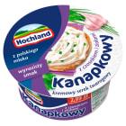 HOCHLAND Kanapkowy Ser twarogowy z czosnkiem i ziołami 130g