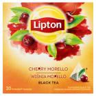 LIPTON Herbata owocowa z wiśnia morello 20 torebek 36g