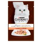 GOURMET A la carte Pokarm dla kotów - łosoś i warzywa (saszetka) 85g