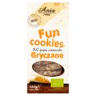 BIO ANIA Fun Cookies Ciasteczka gryczane BIO 120g