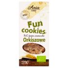 BIO ANIA Fun Cookies Ciasteczka orkiszowe BIO 120g