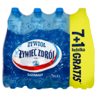 ŻYWIEC ZDRÓJ Żywioł Naturalna woda źródlana gazowana 1,5l 7+1 Gratis 12l
