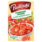 PUDLISZKI Pomidory krojone w soku pomidorowym 390g