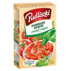 PUDLISZKI Pomidory krojone z bazylią i oregano 390g