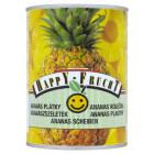 HAPPY FRUCHT Ananas plastry 565g