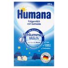 HUMANA Na Dobranoc Mleko następne - po 6 miesiącu 600g