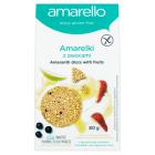 AMARELLO Amarelki z owocami ciasteczka BIO bezglutenowe 80g