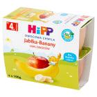 HIPP Owocowa Chwila Przecier owocowy Jabłka-Banany - po 4 miesiącu (4x100g) BIO 400g