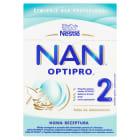 NESTLÉ Mleko dla niemowląt Nan Optipro 2 - Po 6 miesiącu (2x400g) 800g