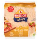 MISSION Wraps Tortilla pszenna orkiszowo-owsiana 6szt 370g