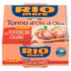 RIO MARE Tuńczyk w oliwie z oliwek z papryką chilli 130g