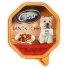 CESAR Pokarm dla psa z wołowiną, marchewką i makaronem (tacka) 150g