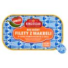KING OSCAR Filety z makreli bez skóry w sosie pomidorowym z chilli 110g