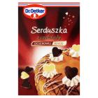 DR. OETKER Dekoracje do ciast Serduszka czekoladowe 45g