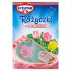 DR. OETKER Dekoracje do ciast Różyczki kolorowe 20g