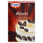 DR. OETKER Dekoracje do ciast Ażurki z czekolady deserowej 30g