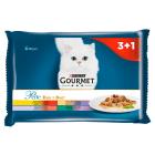 GOURMET Gold Pokarm dla korów - Delikatny mięsny duet  4x85g(saszetki) 340g
