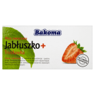 BAKOMA Mus owocowy Jabłuszko+Truskawka 2x100g 200g