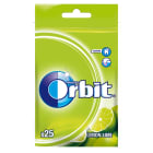 ORBIT Lemon Lime Guma do żucia w torebce 25 drażetek 35 g