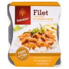 SOKOŁÓW Danie Gotowe Filet z kurczaka w sosie curry - tacka 400g