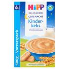 HIPP Na Dobranoc Kaszka mleczno-zbożowa z biszkoptami BIO - po 6 miesiącu 500g