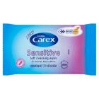 CAREX Sensitive Hipoalergiczne chusteczki 10 szt. 1szt