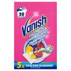 VANISH Chusteczki zapobiegające zafarbowaniu ubrań 20 szt. 0g