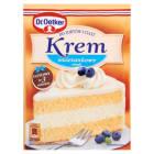 DR. OETKER Krem do tortów i ciast smak śmietankowy 120g