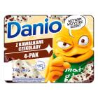 DANONE Danio extra Serek homogenizowany z czekoladą (4 sztuki) 520g