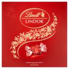 LINDT Lindor Milk Box Praliny z delikatnym mlecznym nadzieniem 150g