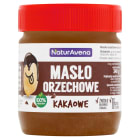 NATURAVENA Masło orzechowe kakaowe 340g