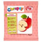 CRISPY Natural Chipsy chrupiące plasterki jabłka z sokiem truskawkowym 20g