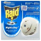 RAID Night & Day Urządzenie elekryczne (muchy, komary, mrówki) + wkłady 1szt