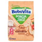 BOBOVITA Porcja Zbóż Kaszka mleczna 7 Zbóż wieloowocowa - po 8 miesiącu 210g