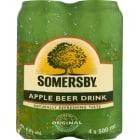 SOMERSBY Napój piwny o smaku jabłkowym w puszce  24 x 500 ml 12l