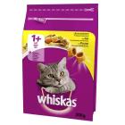WHISKAS 1+ Pokarm Suchy Pełnoporcjowy dla Kotów z Kurczakiem i Wątróbką 300g
