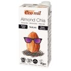 ECOMIL Napój migdałowy niesłodzony z chia BIO 1l