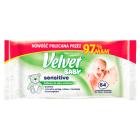 VELVET Baby Sensitive Chusteczki nawilżane dla dzieci i niemowląt 64 szt. 1szt