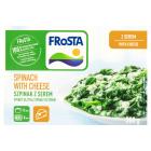 FROSTA Szpinak z sosem serowym mrożony 300g