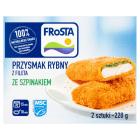 FROSTA Przysmak rybny ze szpinakiem 220g